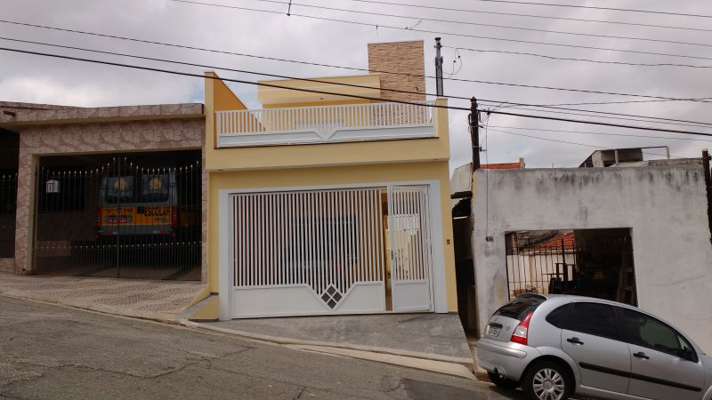 Sobrado Novo venda Vila Alpina - Referência SO00851
