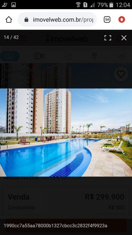 Apartamento venda Vila Ema - Referência ap001115